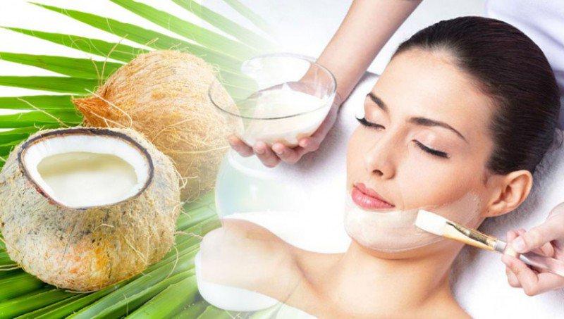 cách trị nám da bằng dầu dừa