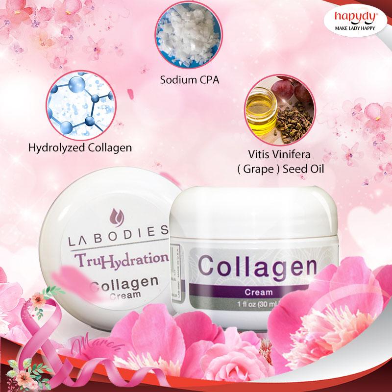 Kem Collagen dưỡng da căng mịn, săn chắc từ Hapydy