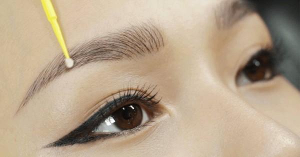Sử dụng những sản phẩm dưỡng cho lông mày để sở hữu hàng mày sắc nét