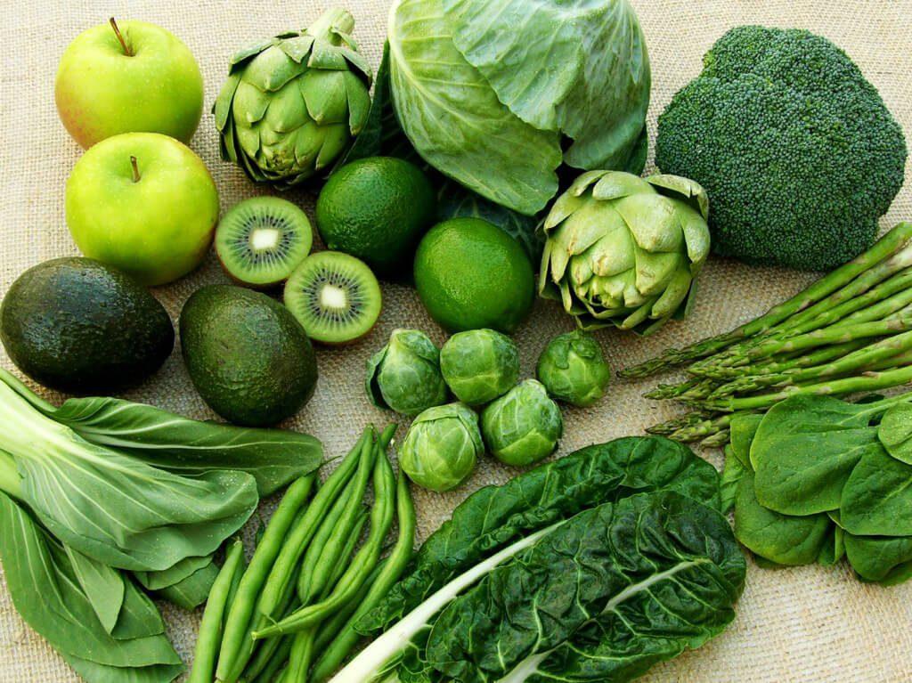 Chất diệp lục trong rau xanh ngăn lão hoá, tốt cho tim mạch