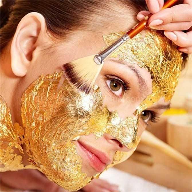 Làm đẹp từ vàng và thực hư hiệu quả làm đẹp tại nhà cùng Hapydy