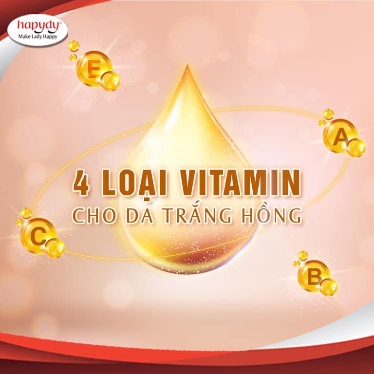 Làm đẹp tại nhà với 4 loại vitamin này, đảm bảo da sẽ trắng hồng