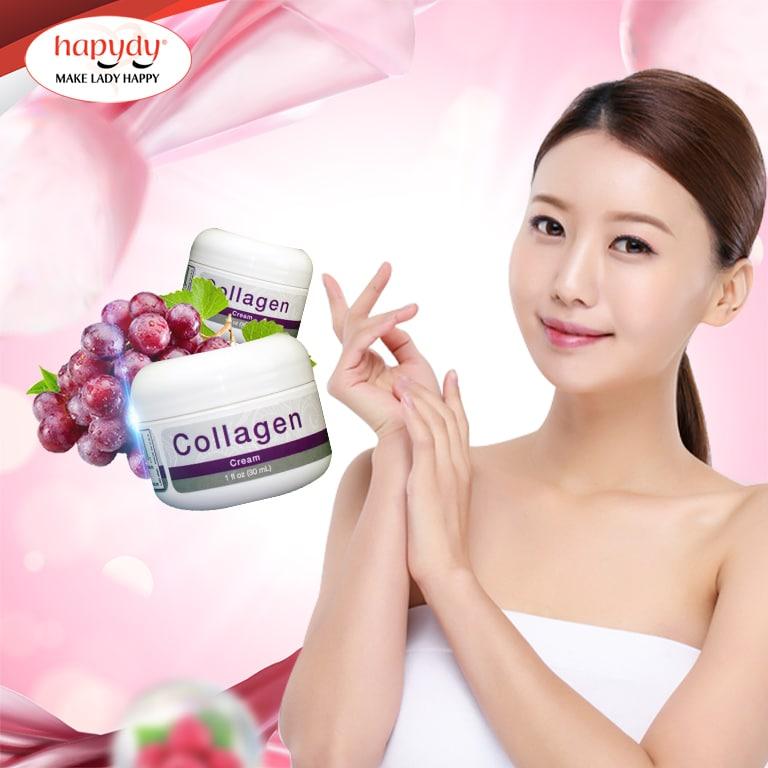 Cream tăng sinh Collagen: tái tạo làn da mới