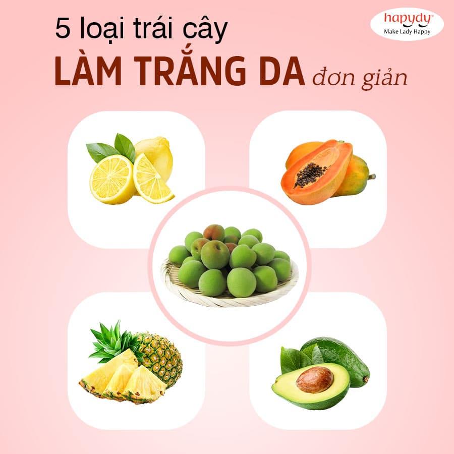 5 loại quả làm trắng da đơn giản, ở Việt Nam vừa có nhiều vừa rẻ