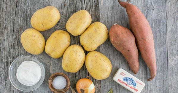 Khoai tây và khoai lang đều có nhiều tác dụng tốt trong việc làm đẹp. Nguồn hình: internet