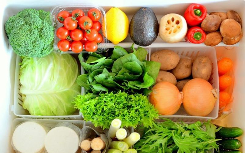 Bảo quản thực phẩm tươi ngon nhờ phân loại rau củ